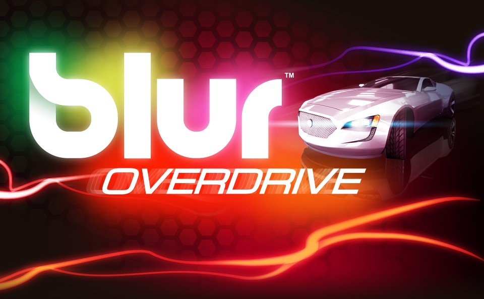 Experience Blur Overdrive, the stunningly chaotic powered- up racing game