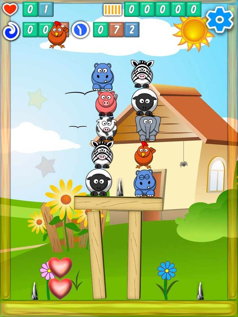 Shinanimals free casual Android and iOS game screen shot 1
