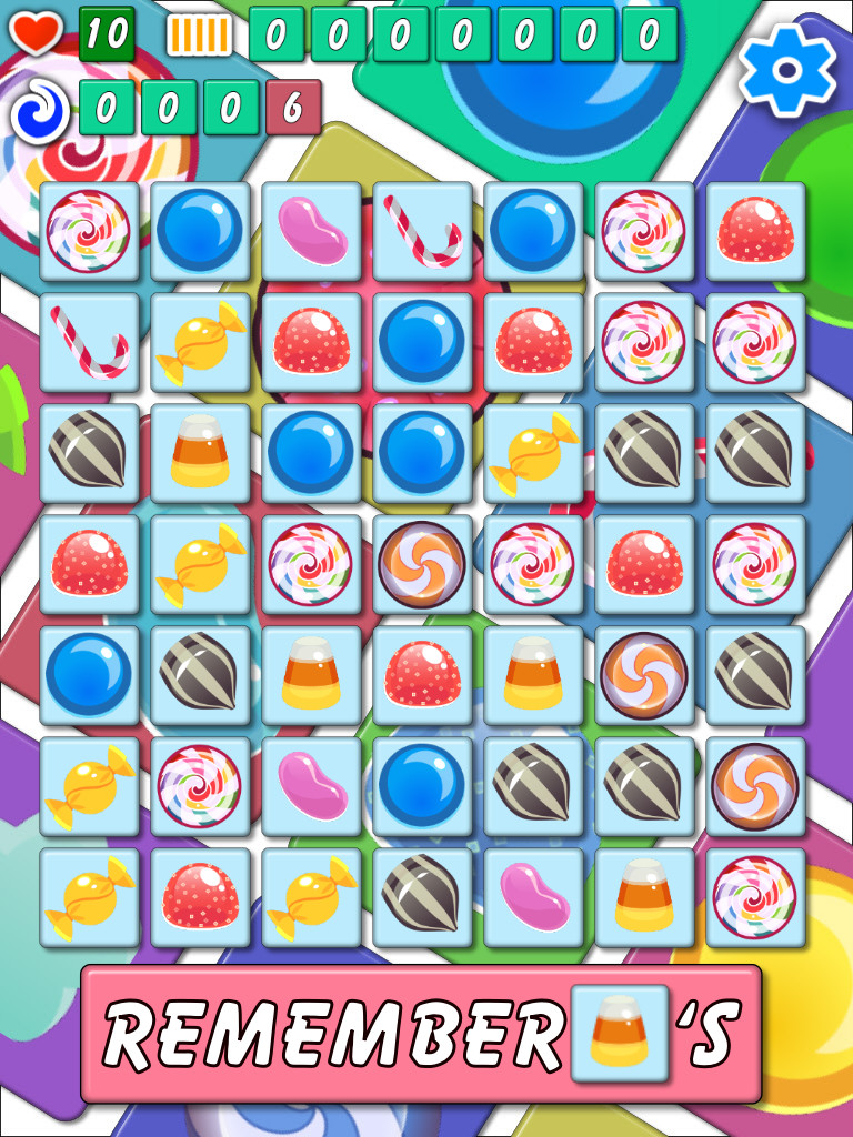 Candy Shuffle Match Free Casual Game for Android and iOS