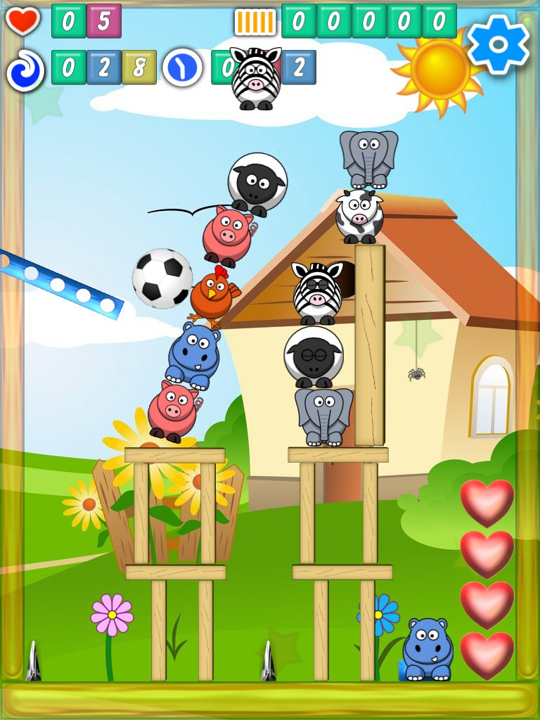 Shinanimals free casual Android and iOS game screen shot 2