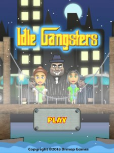 Idle Gangsters Title Screen